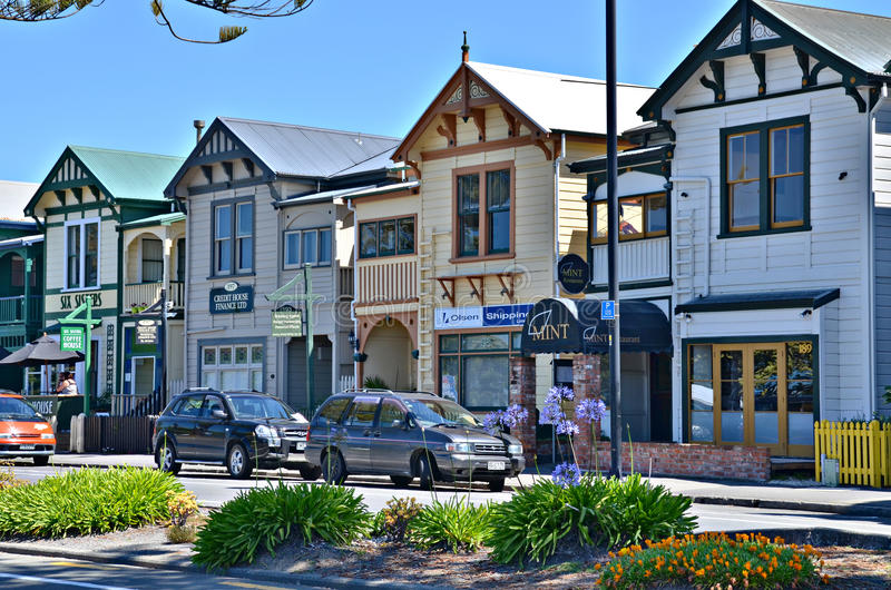 Napier, Nowa Zelandia obrazy stock