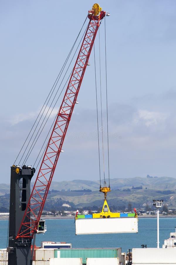 Download Napier stadport arkivfoto. Bild av nytt, kran, maskineri - 78726608