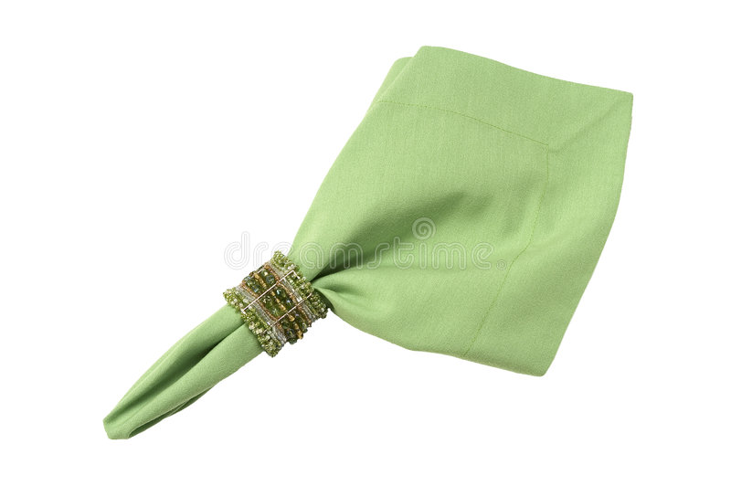 Download Napkin ring and napkin stock photo. Image of accessory - 3195682