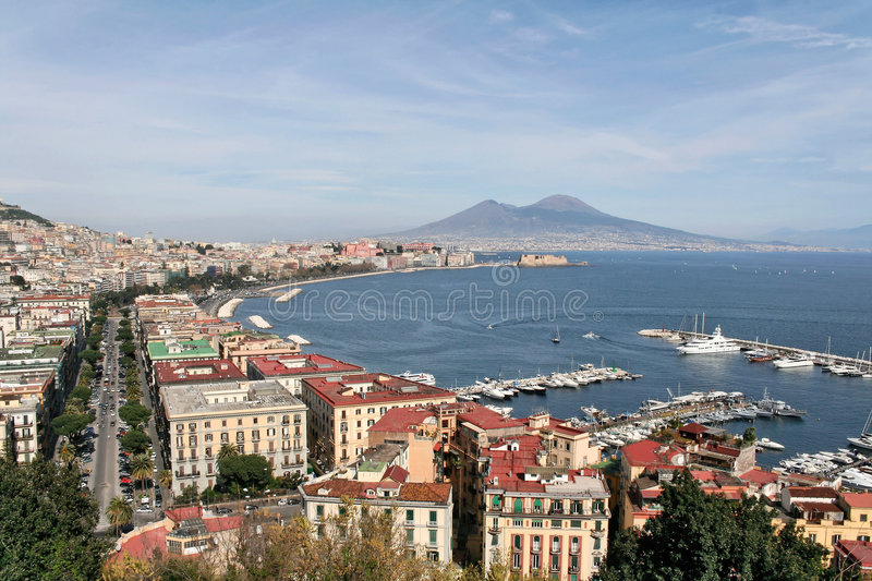 Naples royalty free stock image