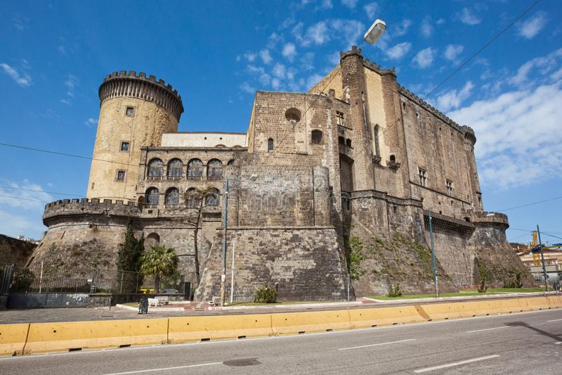 NAPLES Castel Nuovo Maschio Angioino royalty free stock images