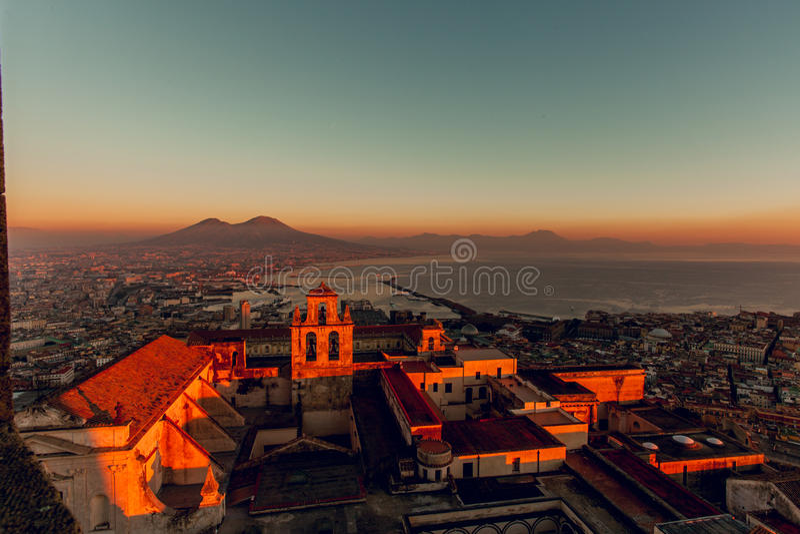 Naples, castel sant elmo