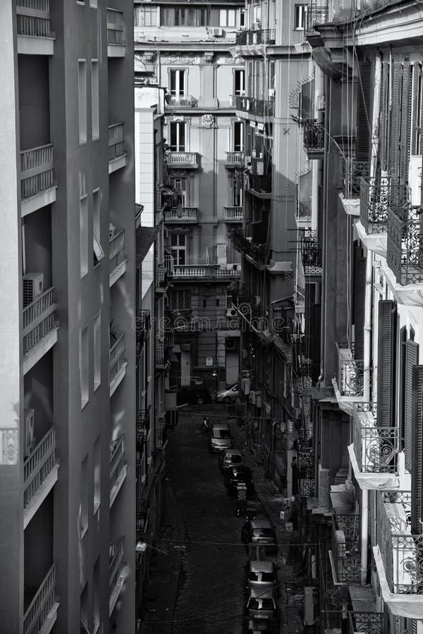 Naples City Street stock images