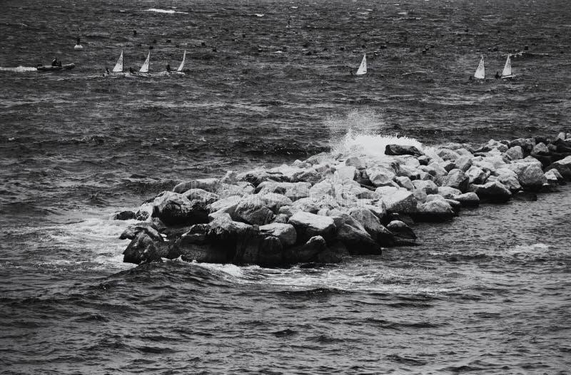Naples Coastline stock images