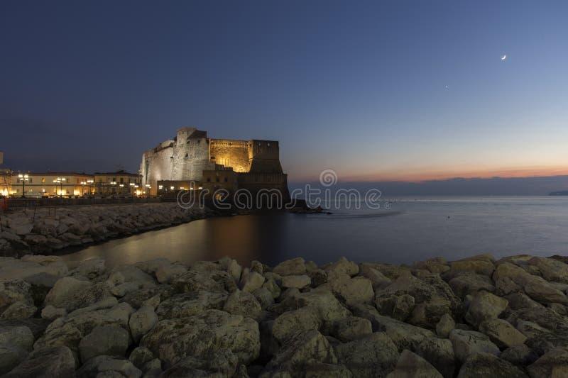 Naples, dell'ovo de castel photo libre de droits