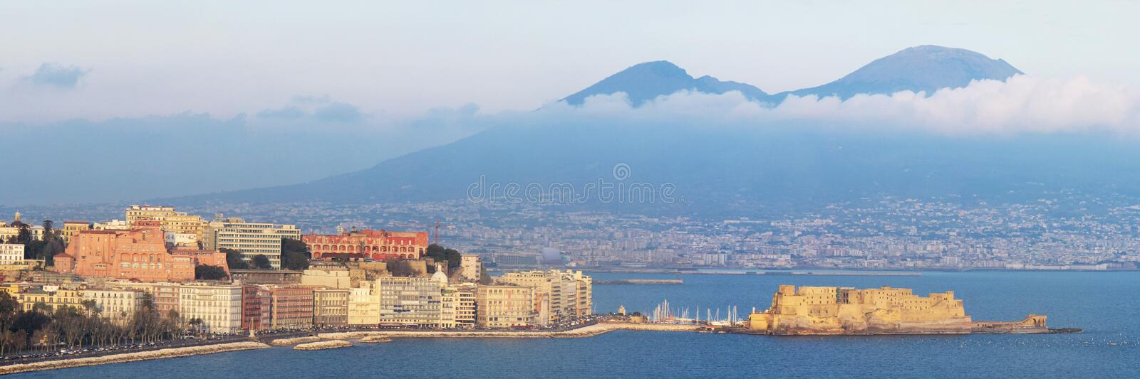 Naples gulf royalty free stock photography