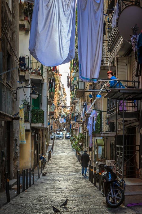 Naples hiszpańskie ćwiartki obraz stock