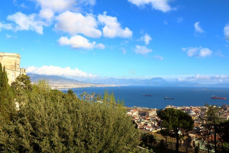 Naples, Italie : vue de ville photographie stock