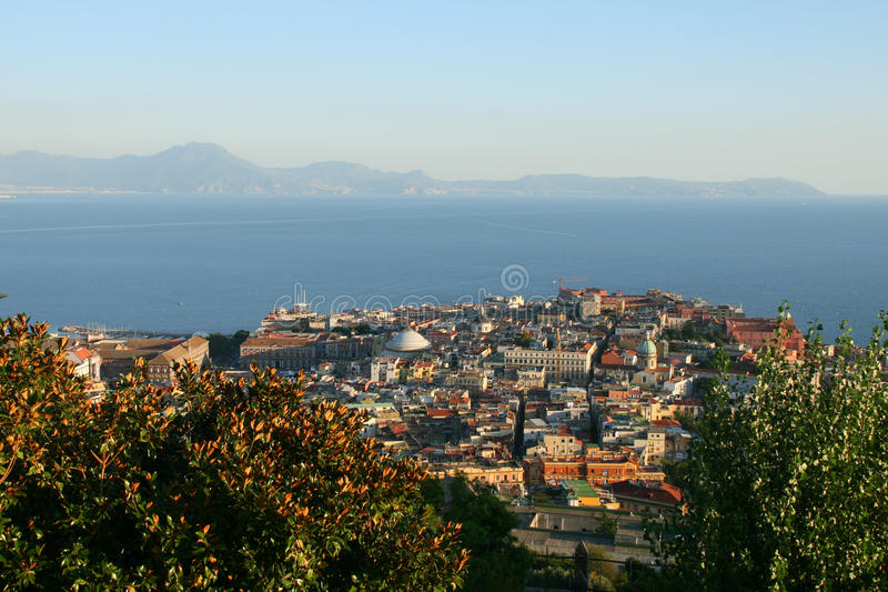 Naples Italien royaltyfri foto