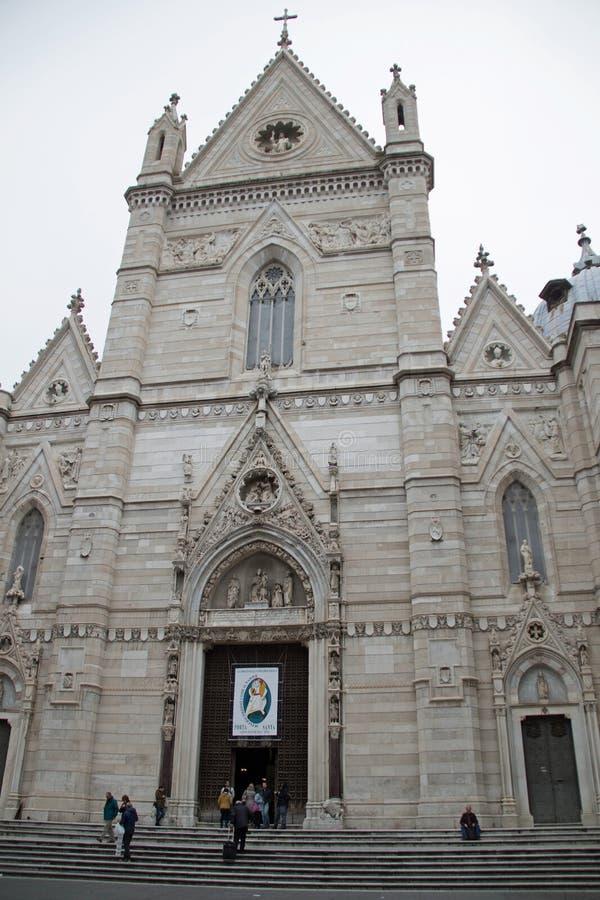 Naples katedra zdjęcia stock