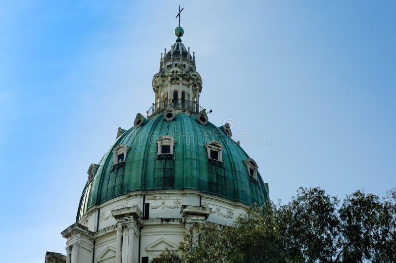 Naples kościół obraz royalty free
