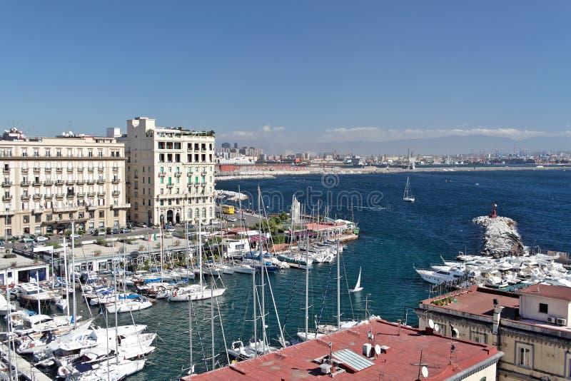 Naples marina stock photos