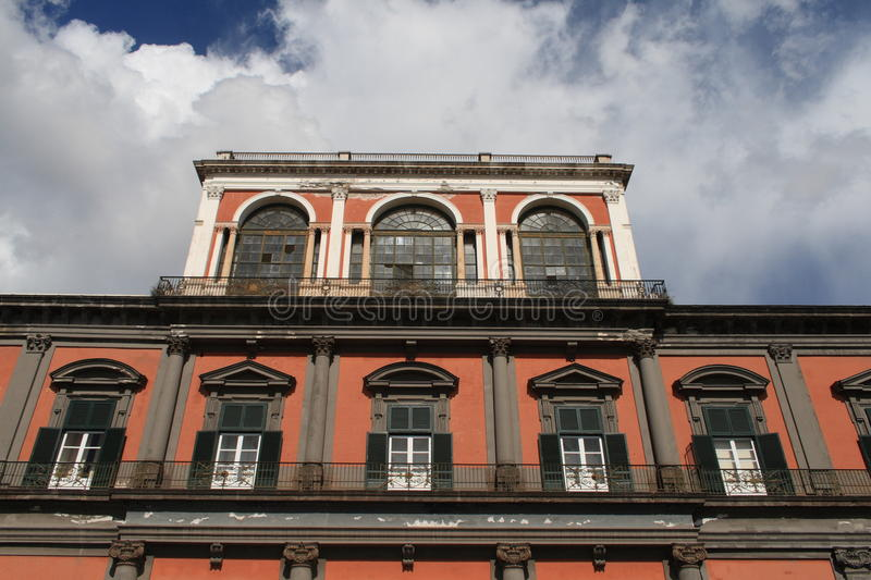 Download Naples-Royal Palace stock photo. Image of architecture - 16419290