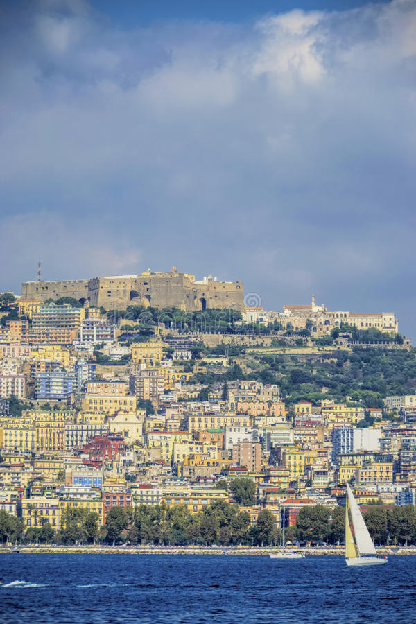 Download Naples Seaside Vertical View Editorial Stock Photo - Image: 34131718