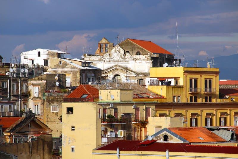 Naples stary miasteczko zdjęcie royalty free