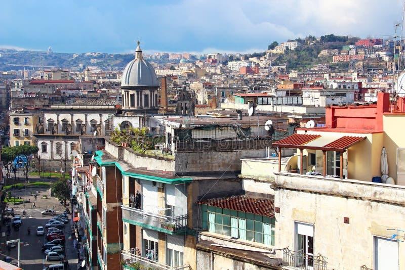 Naples stary miasteczko fotografia stock