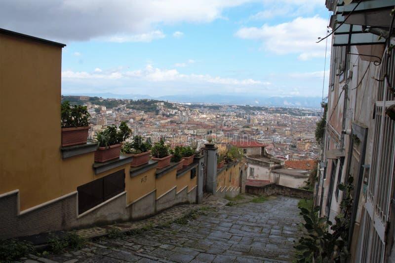 Download Naples starzy schodki obraz stock. Obraz złożonej z europejczycy - 106921099