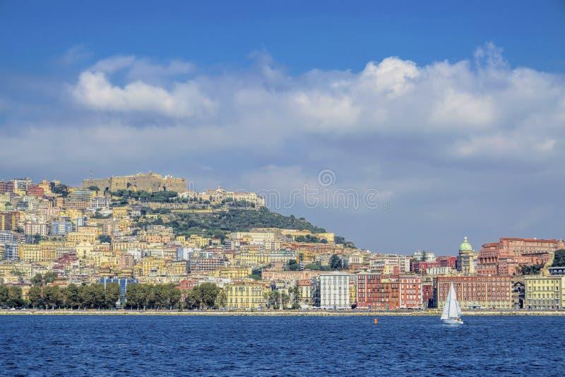 Naples strand royaltyfri fotografi