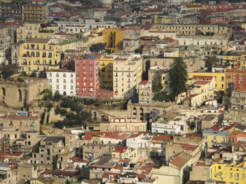 Download Naples urban landscape stock image. Image of street, rooftop - 29382277