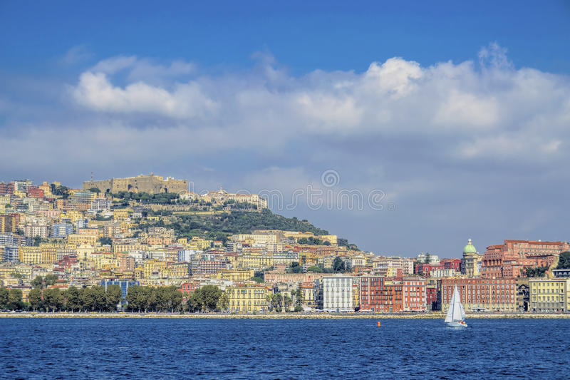 Download Naples waterfront editorial photography. Image of sail - 34132157