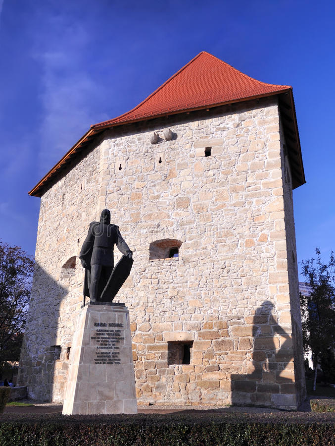 napoca του Cluj προμαχώνων παλαιό στοκ φωτογραφία με δικαίωμα ελεύθερης χρήσης