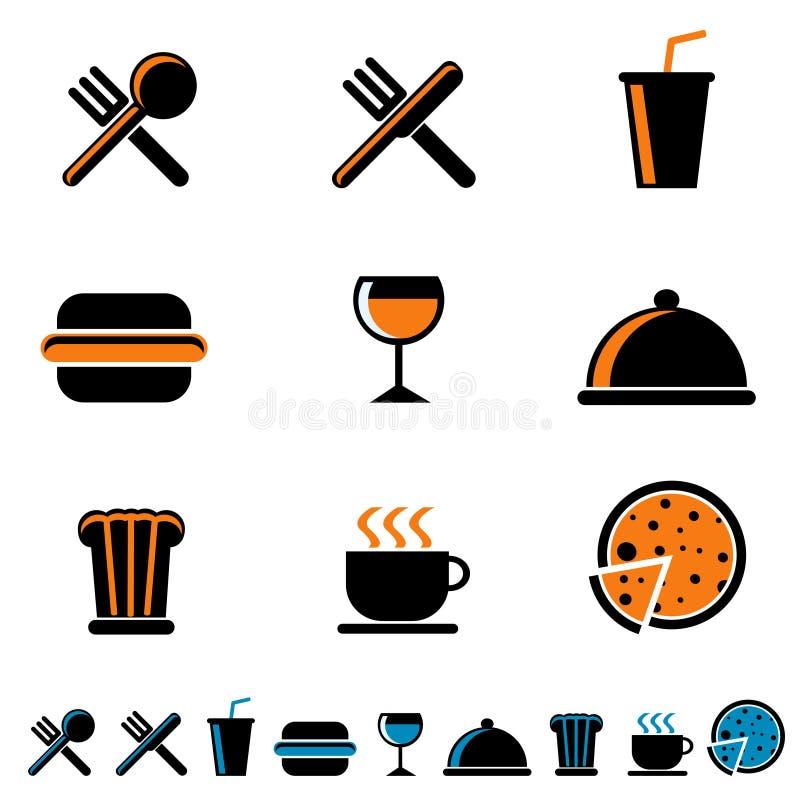 napoju jedzenia ikona ilustracja wektor