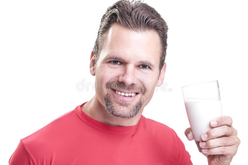 Napoju mleko obraz royalty free