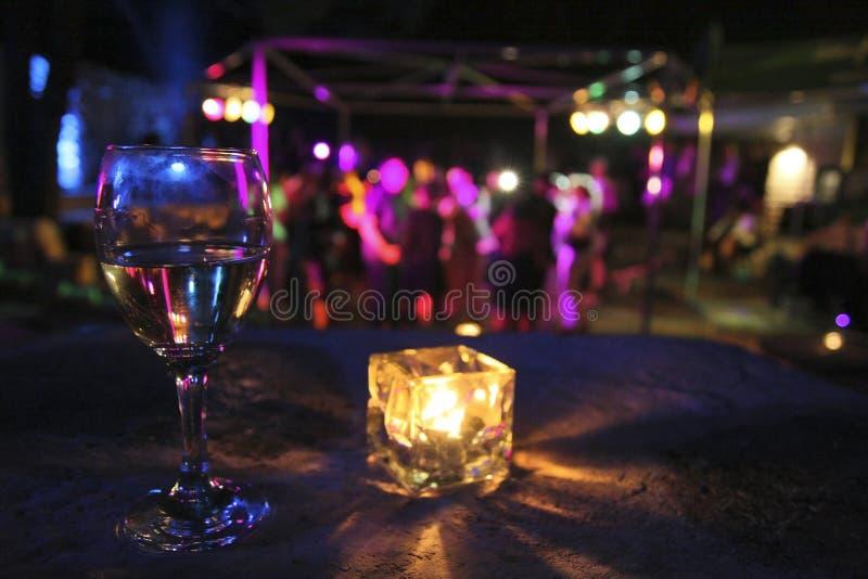 napoju szkła przyjęcie zdjęcie royalty free
