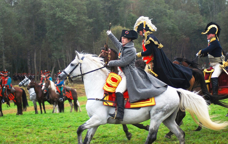 Napoléon images stock