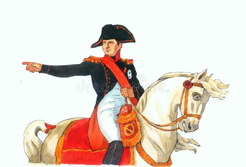 Napoleon fotografía de archivo