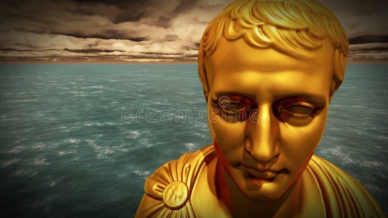 Napoleon Bonaparte - genio militar francés imagen de archivo