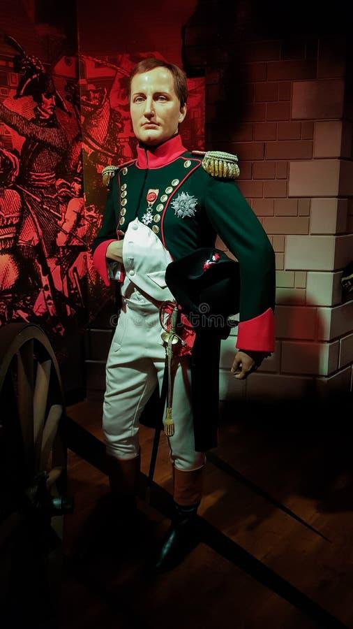 Napoleon Bonaparte royalty free stock photo