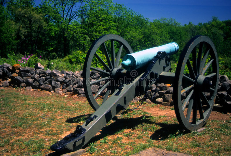 Napoleon, cañón de 12 libras, fotos de archivo