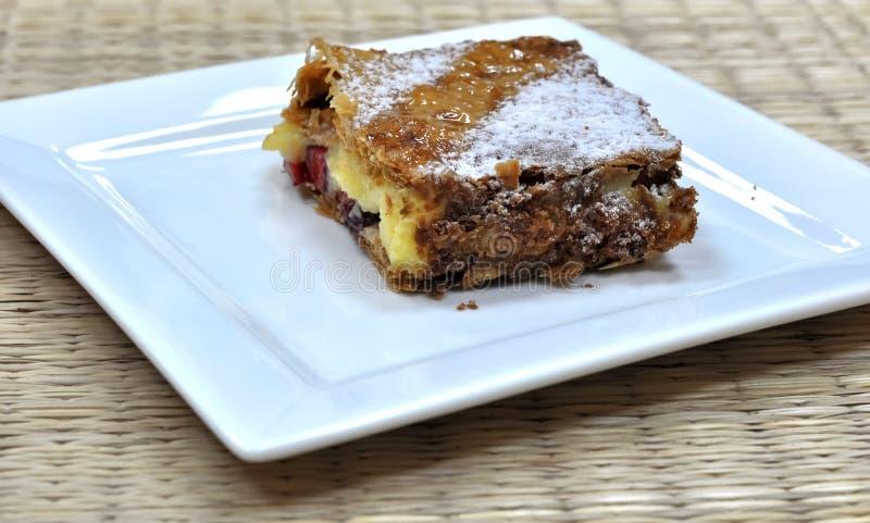 A Napoleon pastry