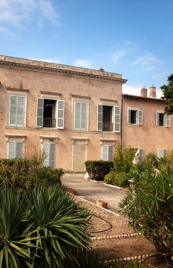 Napoleon's Residence, Villa Dei Mulini royalty free stock photography