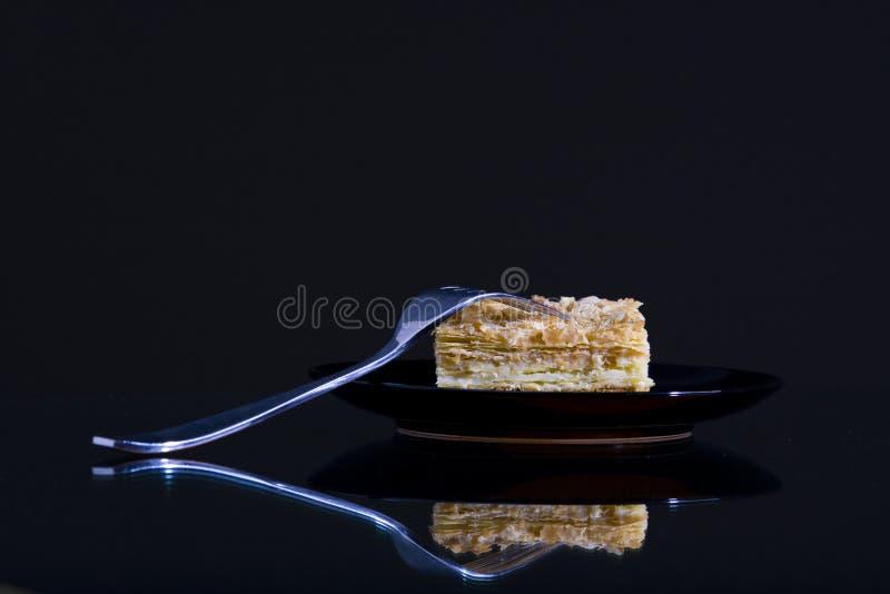 napoleon torte fotografering för bildbyråer