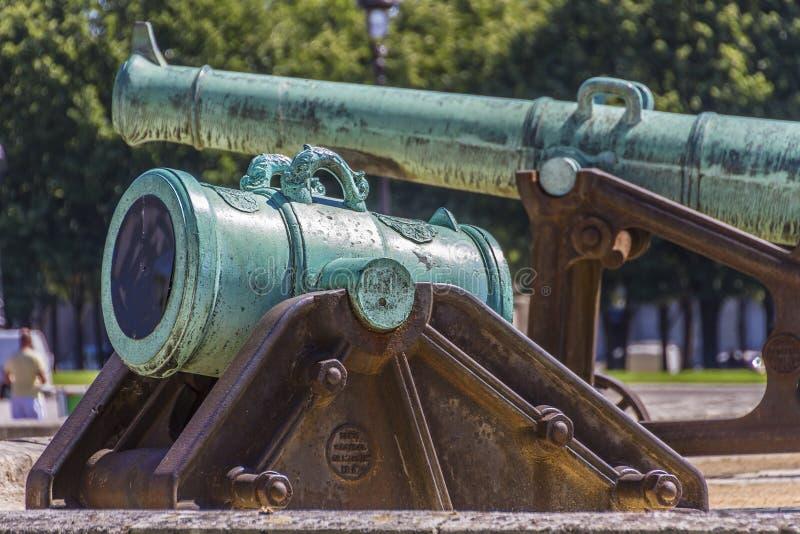 Download Napoleonic Artillery Gun Near Les Invalides, Paris Stock Image - Image: 27504067