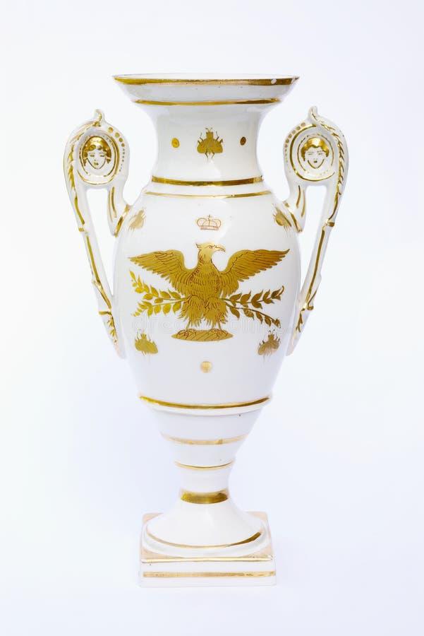Napoleonic era vase royalty free stock photography