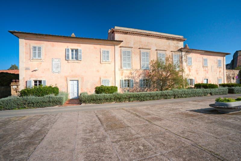 Napoleons Landhaus, Portoferraio, Insel von Elba. stockbild