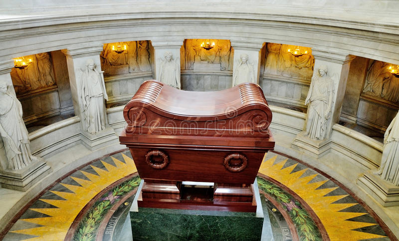 napoleonu Paris grobowiec obrazy royalty free