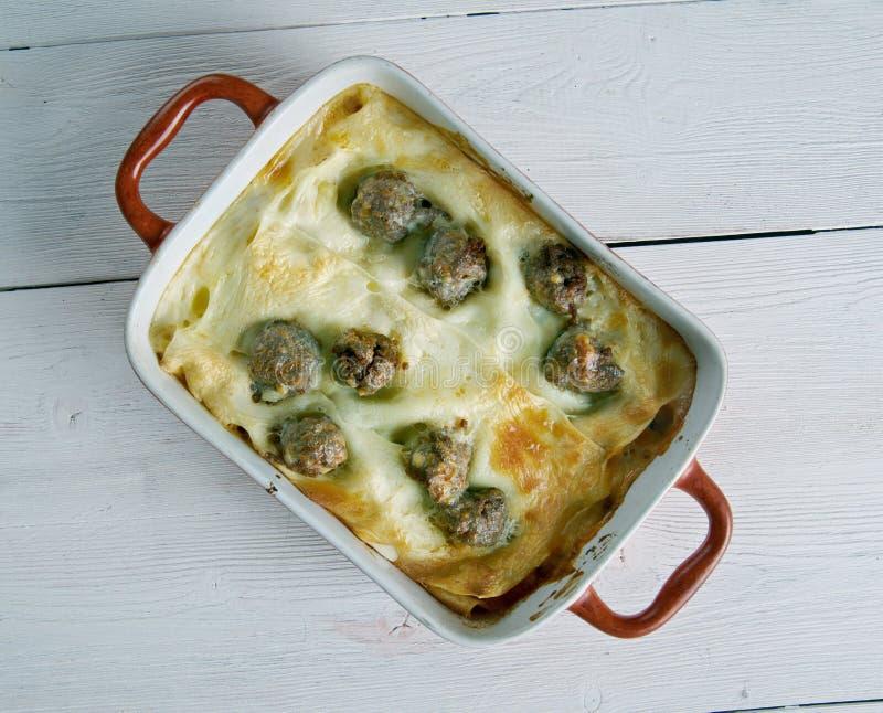 Napoletana d'alla de lasagne images libres de droits