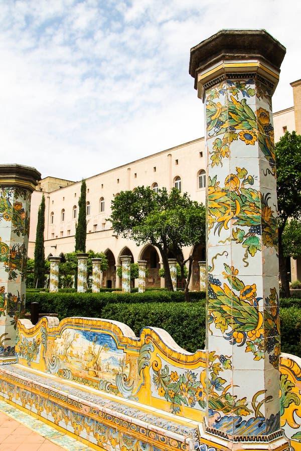Free NAPOLI - Chiostro Di Santa Chiara (The Santa Chiara Museum Complex) Stock Photo - 31366780