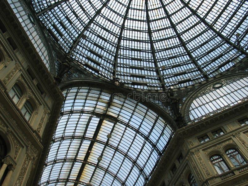 Napoli, Galleria Umberto fotografia stock libera da diritti