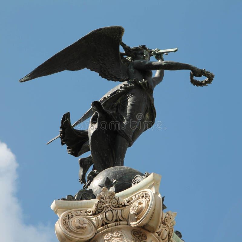 NAPOLI - Monumento στοκ εικόνα με δικαίωμα ελεύθερης χρήσης