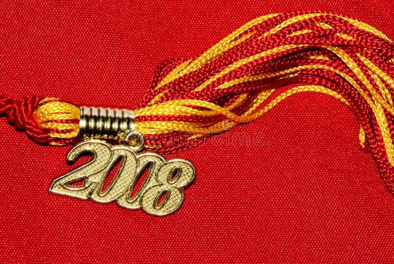 Nappa 2008 di graduazione immagini stock