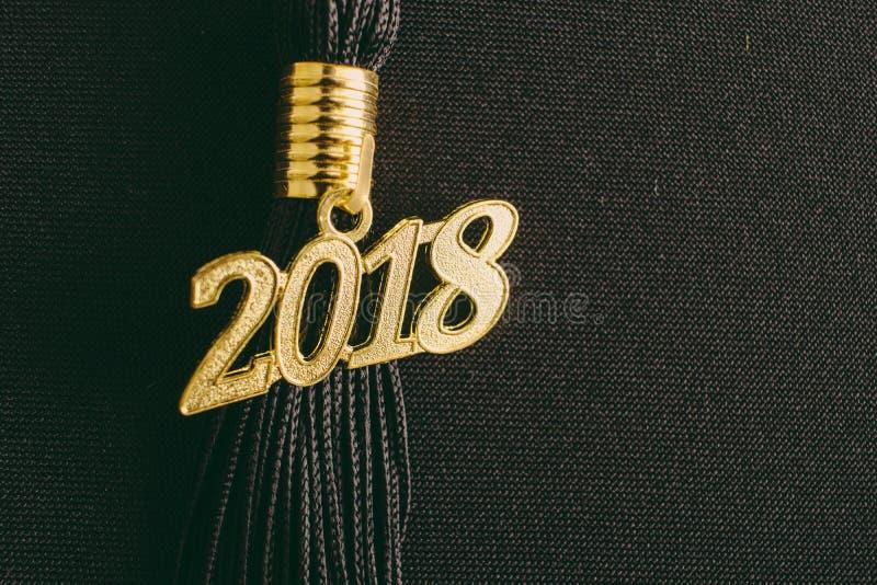 Nappa 2018 di graduazione fotografie stock