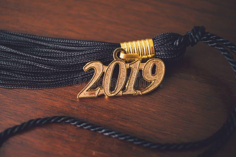 Nappa 2019 di graduazione fotografia stock libera da diritti