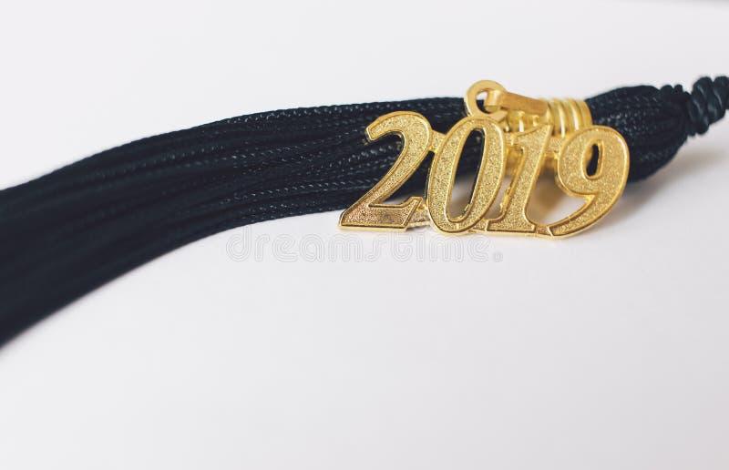 Nappa 2019 di graduazione immagine stock