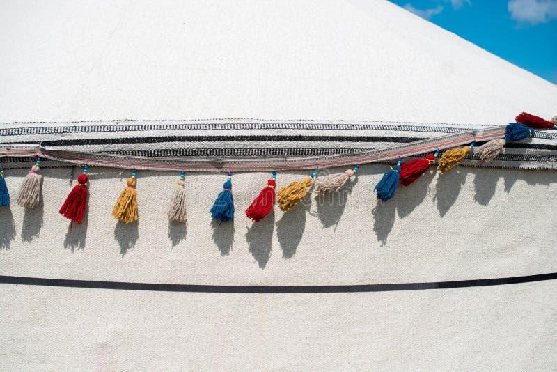 Nappe tradizionali in vari colori immagine stock libera da diritti