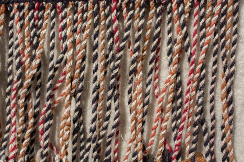 Nappe tradizionali in vari colori fotografia stock libera da diritti